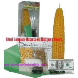Ritual Completo Mazorca de Maíz para Dinero
