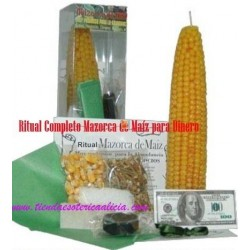 Ritual para Dinero Mazorca Maiz