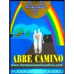 SAHUMERIO ELEGGUA ABRECAMINOS