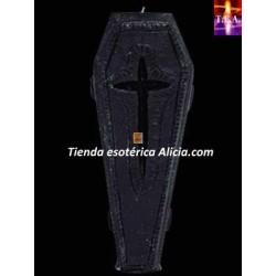 Vela_figura_ataud_negro_esoterica